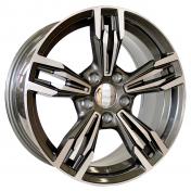 Alu kola Mille Miglia MY720, 19x9.5 5x120 ET37, šedivá + leštění