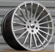 Alu kola Racing Line A1227, 21x11.5 5x120 ET35, stříbrná