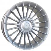 Alu kola Racing Line BK273, 20x9.5 5x120 ET38, stříbrná