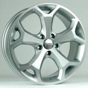 Alu kola Racing Line BK386, 15x6.5 4x108 ET50, stříbrná
