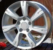 Alu kola Racing Line BK437, 17x7.5 5x114.3 ET35, stříbrná
