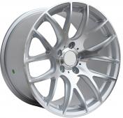 Alu kola Racing Line BK663, 18x9.5 5x120 ET38, stříbrná + leštění zimní použití