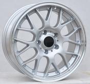 Alu kola Racing Line BY773, 17x7.5 5x120 ET35, stříbrná