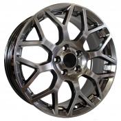 Alu kola Racing Line FD501, 17x7 5x108 ET50, černá metalíza
