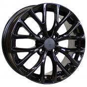 Alu kola Racing Line RS015, 15x6 4x100 ET46, černá lesklá