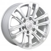Alu kola Racing Line RS107, 17x7.5 6x139.7 ET30, stříbrná
