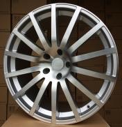 Alu kola Racing Line XF287, 22x9 5x130 ET45, stříbrná + leštění