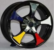 Alu kola Racing Line XF390, 15x6.5 8x100 ET35, Černá