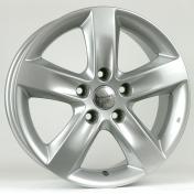 Alu kola Racing Line XF674, 16x6.5 5x114.3 ET50, stříbrná