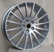 Alu kola Racing Line ZE304, 16x7 5x98 ET35.5, stříbrná