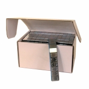 Samolepící závaží pro alu kola FE pozinkované antracit 3mm , 12x5g, 100ks, váha 6kg
