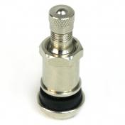 Ventil bezdušový kovový stříbrný s přesahem matice 42mm Valor