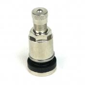 Ventil bezdušový kovový stříbrný se zapuštěnou maticí 37mm Valor