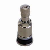 Ventil bezdušový kovový stříbrný se zapuštěnou maticí 42mm Valor