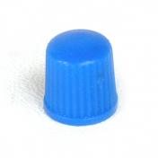 Ventilová čepička plastová modrá nízká