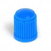 Ventilová čepička plastová modrá vysoká