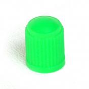 Ventilová čepička plastová zelená vysoká
