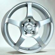 Alu kola HRS HI125, 16x7 5x114.3 ET42, stříbrná