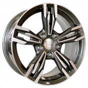 Alu kola Mille Miglia MY720, 19x8.5 5x120 ET34, šedivá + leštění