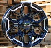 Alu kola Racing Line BK5260, 17x8 10x110 ET20, černá + leštění