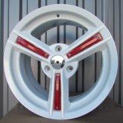 Alu kola Racing Line BY828, 16x6.5 3x112 ET27, metalická bílá