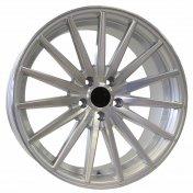 Alu kola Racing Line FR999, 19x8.5 5x120 ET35, stříbrná + leštění