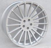 Alu kola Racing Line HX010, 22x9 5x112 ET30, stříbrná