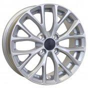 Alu kola Racing Line RS015, 15x6 4x100 ET40, stříbrná