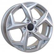 Alu kola Racing Line RS066, 16x6.5 5x114.3 ET38, stříbrná