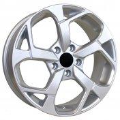 Alu kola Racing Line RS067, 17x7 5x114.3 ET48, stříbrná