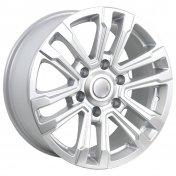 Alu kola Racing Line RS107, 17x7.5 6x139.7 ET25, stříbrná