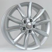 Alu kola HRS WP157, 16x7.5 5x112 ET35, stříbrná