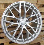 Alu kola Racing Line XFE30, 18x8 5x112 ET35, stříbrná + leštění celoroční použití