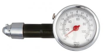 Pneuměřič tlaku v pneu kovový 0,5 - 7,5 Bar
