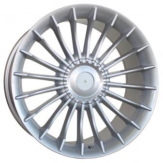 Alu kola Racing Line BK273, 20x8.5 5x120 ET14, stříbrná