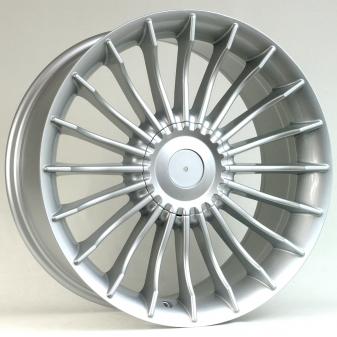 Alu kola Racing Line BK273, 21x8.5 5x120 ET25, stříbrná
