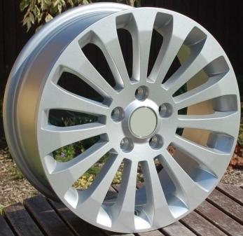 Alu kola Racing Line BK439, 16x6.5 5x108 ET50, stříbrná