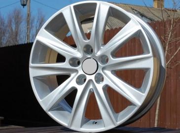 Alu kola Racing Line BK561, 16x6.5 5x112 ET46, stříbrná