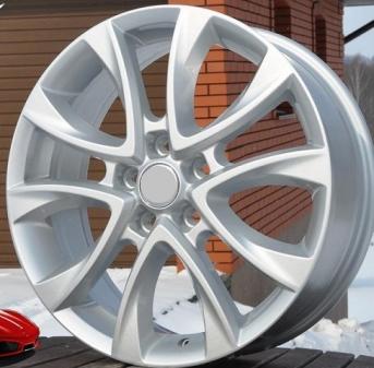 Alu kola Racing Line BY283, 18x7 5x114.3 ET55, stříbrná