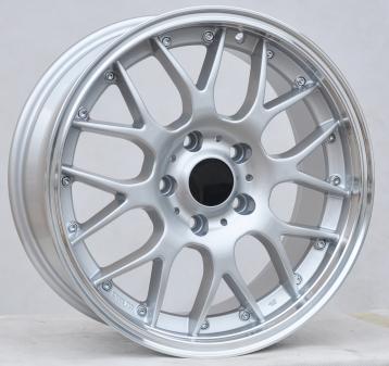 Alu kola Racing Line BY773, 18x9 5x120 ET20, stříbrná