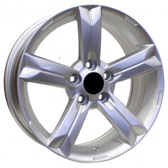 Alu kola Racing Line OPL509, 16x6.5 5x105 ET39, stříbrná