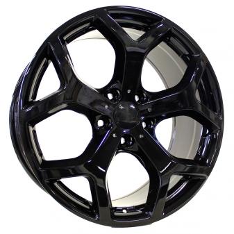 Alu kola Racing Line XF711, 20x9.5 5x120 ET40, Černá