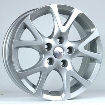 Alu kola Racing Line ZE245, 16x6.5 5x114.3 ET50, stříbrná