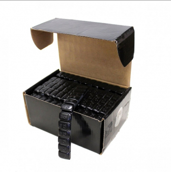 Samolepící závaží pro alu kola FE pozinkované černé 5mm , 12x10g, 50ks, váha 6kg