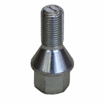 Šrouby na kola M12x1,25x22mm kužel, nízká hlava, klíč 17