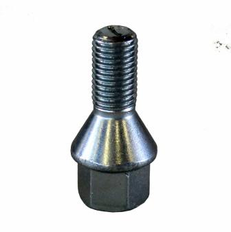 Šrouby na kola M12x1,5x21mm kužel, nízká hlava, klíč 17