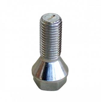 Šrouby na kola M12x1,5x26mm kužel, nízká hlava, klíč 17