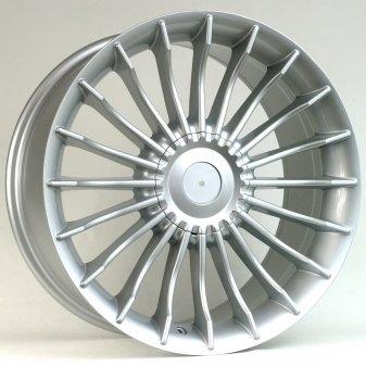Alu kola Racing Line BK273, 21x10 5x120 ET41, stříbrná